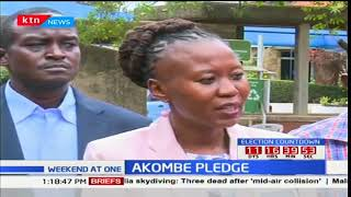IEBC Commissioner Roselyn Akombe urges for trust from Kenyans on her visit of Kisumu City