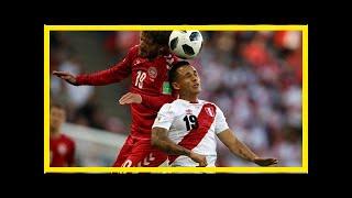 Сборная Перу проиграла датчанам в Саранске   TVRu