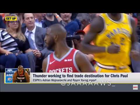 Could Chris Paul possibly start the regular season with OKC??