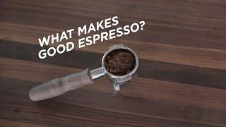 Espresso Theory