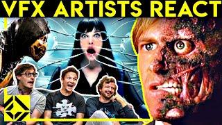 VFX Artists React to Bad & Great CGi 10