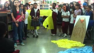preview picture of video 'Primer Capítulo Shalam, el capítulo de los guerreros, grados quinto colegio Marsella'
