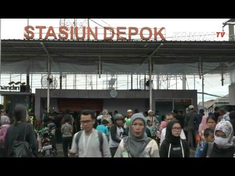 Perjalanan KRL Jakarta-Bogor Berhenti di Stasiun Depok