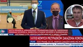 Dr Z. Kękuś (PPP 304) Nabieram wrażenia, że Morawiecki i Niedzielski są tylko od szcze*ienia
