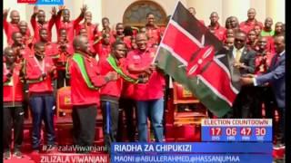 Wanariadha chipukizi waatuzwa na Rais Uhuru Kenyatta