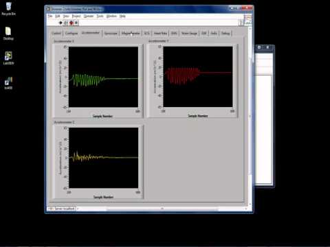 Shimmer LabVIEW Instrument Driver   Stream biophysical