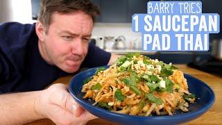 Tasty's One Pan Pad Thai | Barry Tries #33