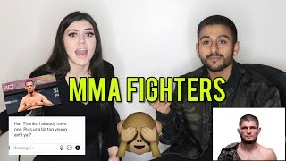 Like, DM, Unfollow: UFC FIGHTERS ft. MIKAELA PASCAL