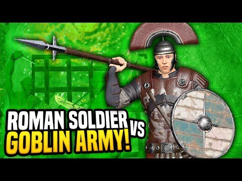 ROMAN SOLDIER TAKES ON ARMY OF GOBLINS - Blades and Sorcery VR Mods (Update 7)