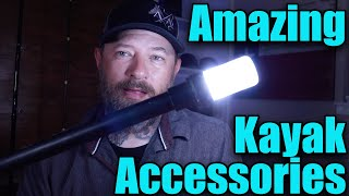 3 Amazing Kayak Fishing Accessories... You May Not Know About!