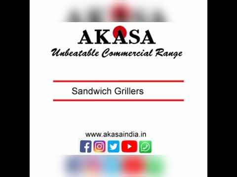 Akasa Indian Two Jumbo Sandwich Griller