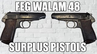 Hungarian FEG Walam 48  380 Pistol Semi-Auto Double Action 4