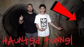 TAKING FAZE RUG TO THE HAUNTED TUNNEL (THE END OF THE HAUNTED TUNNEL) | OmarGoshTV
