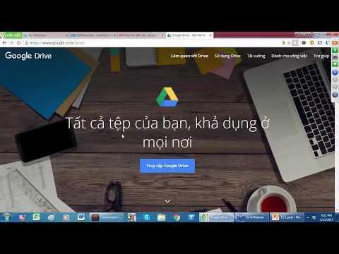 Hướng Dẫn Sử Dụng Google Driver