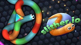 Slither.io - SKIN BOLADA do GOOGLE PLAY!!