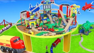 Brio Trains: Wooden Railway, Fireman, Subway Tunnel & Toy Vehicles | Train Toys Unboxing for Kids