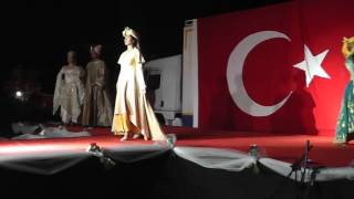 cigli halk egitim osmanlı kıyafetleri defilesi 2