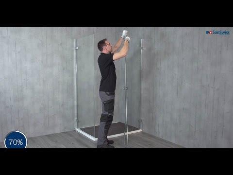 Duschabtrennung ESCURA ES13+EST1 Installation