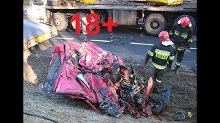 #1 18 + Страшные аварии. ДТП, нелепые аварии, дураки на дорогах