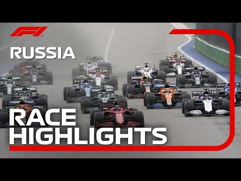 F1 第15戦ロシアGP(ソチ)決勝レースのハイライト動画