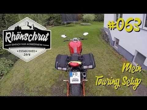#063 Mein Touring Setup   Gepäcklösung für die Ducati Monster 821