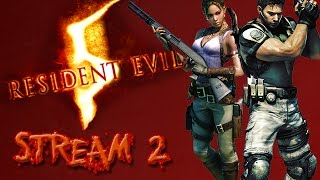 [Countdown to RE7!]- RESIDENT EVIL 5 PS4 STREAM 2