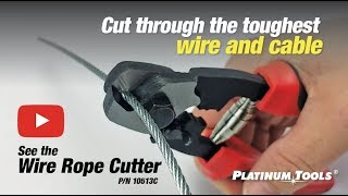 Introducing: Wire Rope Cutter