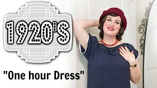 Making A 1920s One Hour Dress