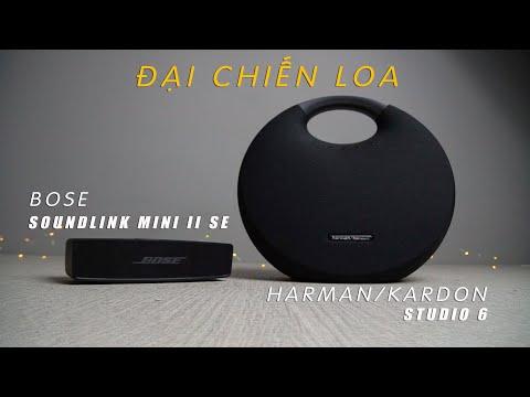 [Đại chiến loa] H/K Onyx Studio 6 vs Bose Soundlink mini 2 SE| Loa nào tốt hơn ???