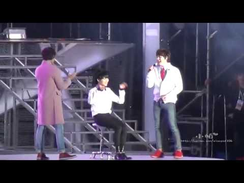[FANCAM] 131019 Just The Way You Are - Kyuhyun, Changmin & Taemin @ SMTown Beijing Mp3
