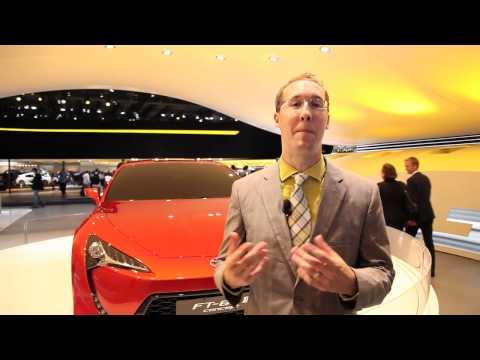 Toyota FT 86 II Concept - 2011 Frankfurt Auto Show