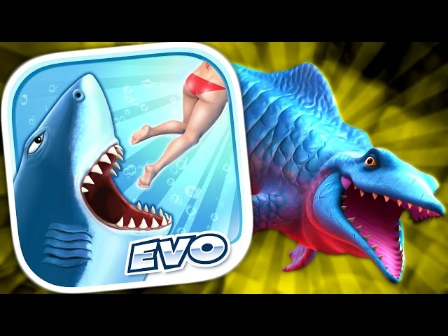 MR. SNAPPY (MOSASAURUS) - Hungry Shark Evolution - Part 10 (iPhone Gameplay Video)