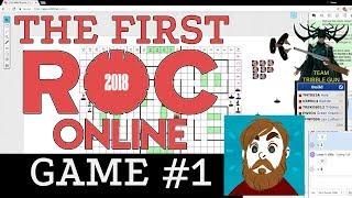 Heroclix Roll20 - the first ROC Online Tournament! Hela vs Goblin King!