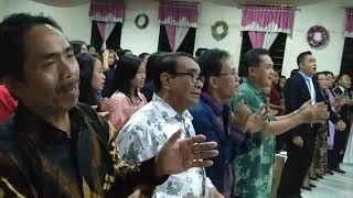 preview picture of video 'Natal Youth Fellowship GMII 'Haleluya' Ngabang'
