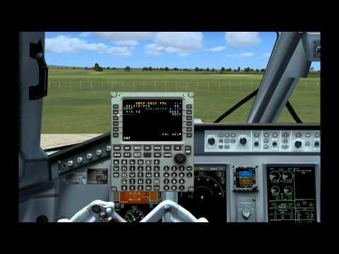 Tutorial FMC (LNAV) Embraer Wilco 190 FSX HD on YOUZEEK com