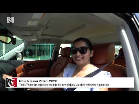 Times TV takes new Nissan Patrol 2020 for a spin