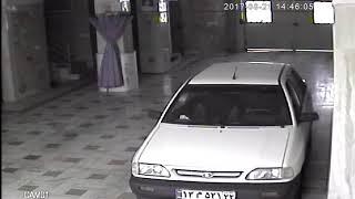 دزد گرفتار در دید دوربین مداربسته