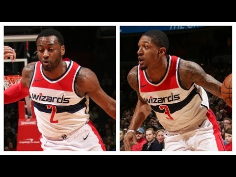 John Wall and Bradley Beal Combine For 52 Pts vs. Knicks | January 3, 2018