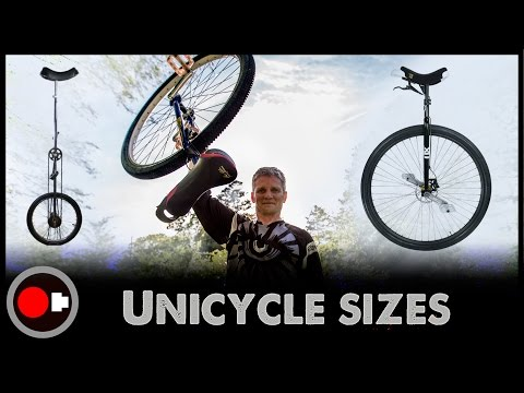 Unicycle science – Why so many wheel sizes?