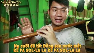 Níu Duyên - Hướng dẫn sáo trúc Thắm sáo ( Sáo G4 )