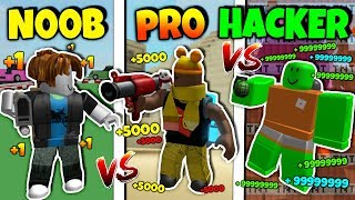 NOOB vs PRO vs HACKER | Destruction Simulator Version *FUNNY* (Roblox)