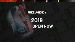NBA 2K19 MyCareer - WHAT HAPPENS WHEN YOU ENTER FREE AGENCY AND SIGN A SUPER MAX DEAL!