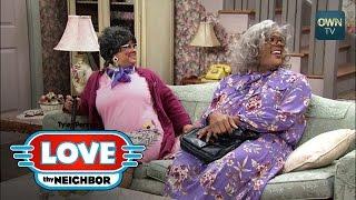 Madea and Hattie Outsmart Linda | Tyler Perry's Love Thy Neighbor | Oprah Winfrey Network