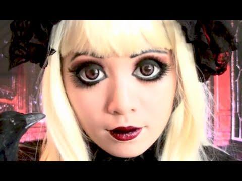 hallowen vestito e trucco da bambola assasina yahoo answers. Black Bedroom Furniture Sets. Home Design Ideas