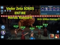 Star Wars Galaxy of Heroes: Darth Vader Zeta Leader SOLOS ENTIRE Heroic Rancor! How-to Guide!
