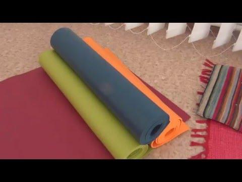 Видеообзор ковриков для йоги и фитнеса Ришикеш и Кайлаш от фирмы Бодхи