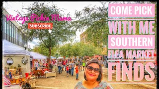 Come Pick With Me Southern Flea Market Finds - Farmhouse, Shabby Chic, Cottage, Chippy