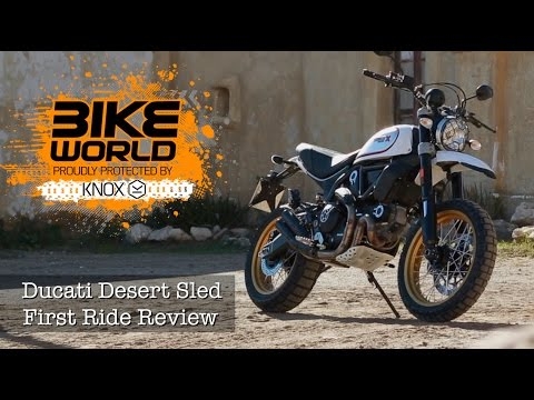 2017 Ducati Scrambler Desert Sled in Thousand Oaks, California