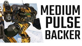 In the middle of everything! Medium Pulse Linebacker - Mechwarrior Online The Daily Dose #484