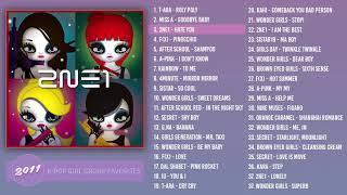 ♡ 2011 K-Pop Girl Groups | PLAYLIST ♡